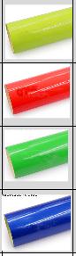 Colores vinil corte fluorescente