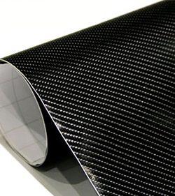 Vinil fibra de carbono 4D