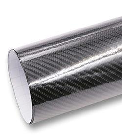Vinil fibra de carbono 5D
