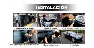 Como instalar vinil automotriz